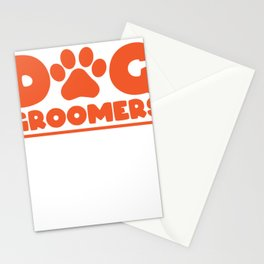 DOG GROOMERS WHERE BREEDS ARE UNKNOWN AND APPOINTMENT TIMES DON'T EXIST Stationery Cards