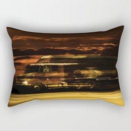 Camión en la ruta Estados Unidos Route 66 Rectangular Pillow