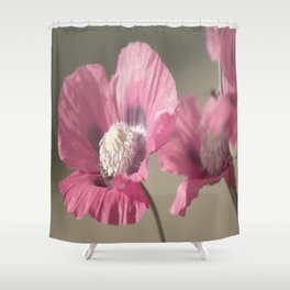 Poppies at Nature Shower Curtain