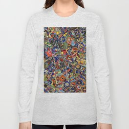 Fruit Crate Collage Long Sleeve T-shirt