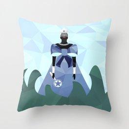 Iemanjá Geométrica Throw Pillow