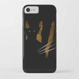 SuperHeroes Shadows : Wolverine iPhone Case