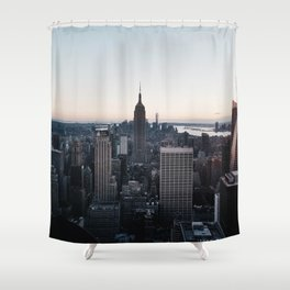 The, New York City Shower Curtain