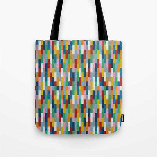 Bricks Rotate #2 Tote Bag