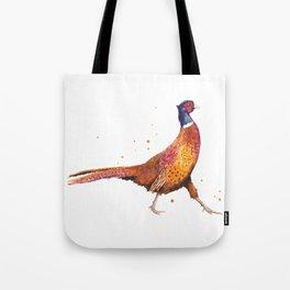 Pheasant Strut Tote Bag