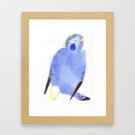 """Un oiseau entend..."" Book cover Framed Art Print"