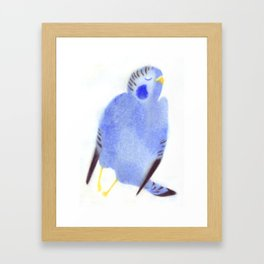 """Un oiseau entend..."" Book cover Framed Art Print"