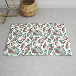 Diamonds are forever Pattern 2 Rug