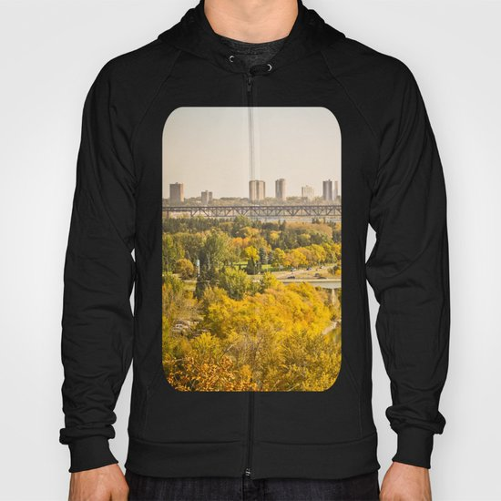 Fall in the city Hoody