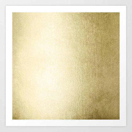 Simply Gilded Palace Gold Art Print