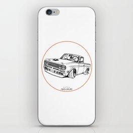 Crazy Car Art 0188 iPhone Skin