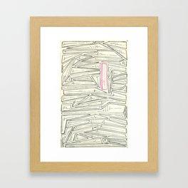 L'Électricité Framed Art Print