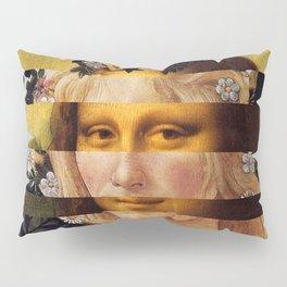 Leonardo's Mona Lisa & Botticelli's Flora Pillow Sham