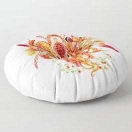 Tangerine Floor Pillow
