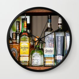 Last Call For Alcohol Wall Clock