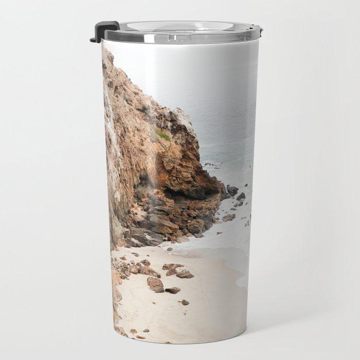 Malibu California Beach Travel Mug