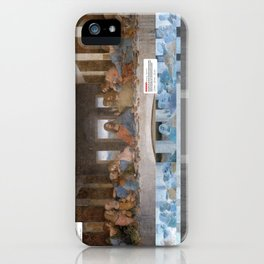 The Last Supper _review iPhone Case