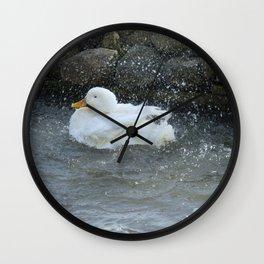 Bath Time Wall Clock