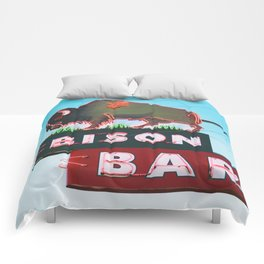 The Bison Bar Comforters