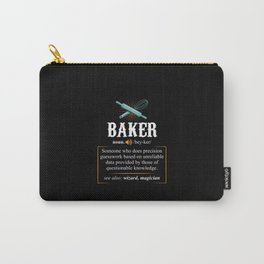 Baker Definition. - Gift Carry-All Pouch