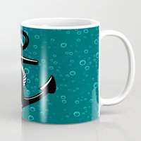 anchor Mugs featuring Anchor by Urlaub Photography