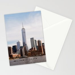 Manhattan - New York City, New York Stationery Cards