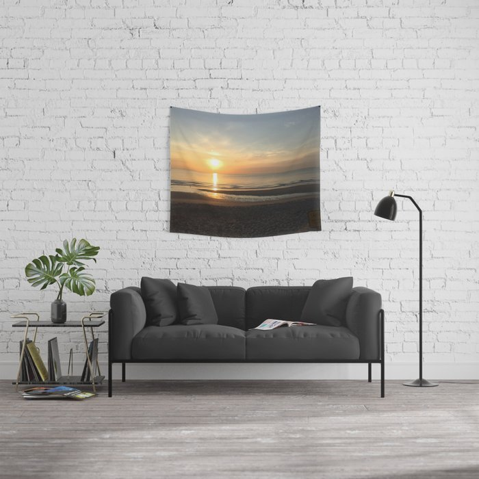 What a View Wall Tapestry