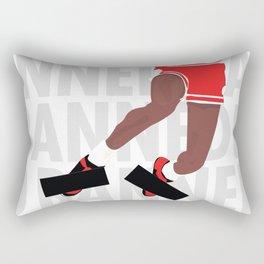 Banned (White) Rectangular Pillow