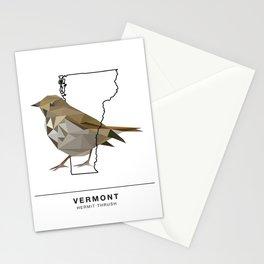 Vermont – Hermit Thrush Stationery Cards