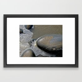 Stone Islands Framed Art Print