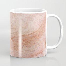 Polished Rose Gold Marble Coffee Mug