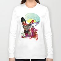 french Long Sleeve T-shirts featuring FRENCH by DON'T NEED NO SAMURAI