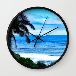 Silent Sage 0012 Kauai Wall Clock