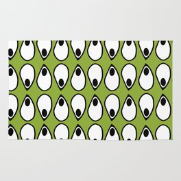 Green Dive- plongeon vers -eyes5 Rug