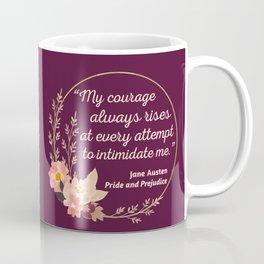 Pride and Prejudice Quote I - Cute Style Coffee Mug