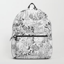 Puma Concolor Coryi- Endangered Species Backpack