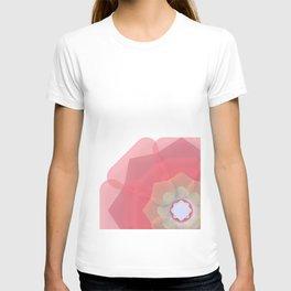 Pink Floral Meditation T-shirt