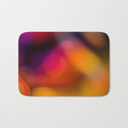 Abstract Background Candle Bath Mat