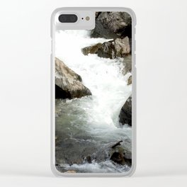"Where the Mighty Uncompahgre River is But a ""Trickle"" Clear iPhone Case"