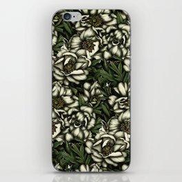Botanic white iPhone Skin
