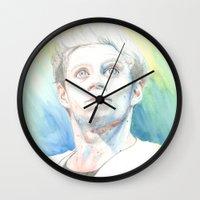 niall Wall Clocks featuring Niall by Rach