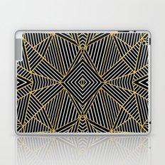 Ab Half Gold Laptop & iPad Skin