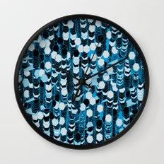 color hiving 2 colors Wall Clock