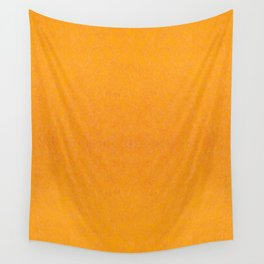 Yellow orange material texture abstract Wall Tapestry