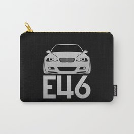 BMW E46 M3 - silver - Carry-All Pouch