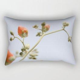 Orange & Blue & Green (Super Bloom) Rectangular Pillow