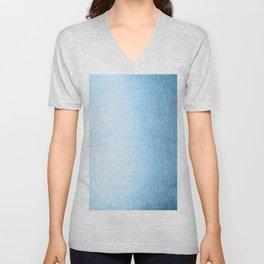 Blue Raspberry Shimmer Unisex V-Neck