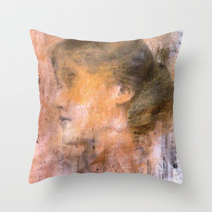 Dead girls: Virginia Woolf Throw Pillow