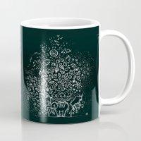 universe Mugs featuring Universe by Pani Grafik
