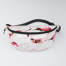 Floral Embosses: Pictorial Cherry Blossoms 01-02 Fanny Pack